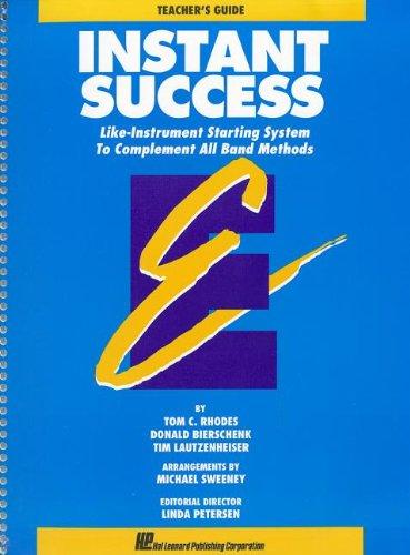 9780793524839: INSTANT SUCCESS PRIMER TEACHER'S GUIDE