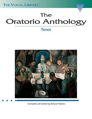 9780793525072: Oratorio Anthology: Tenor