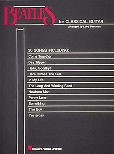 9780793525270: Beatles for Classical Guitar: Guitar Solo
