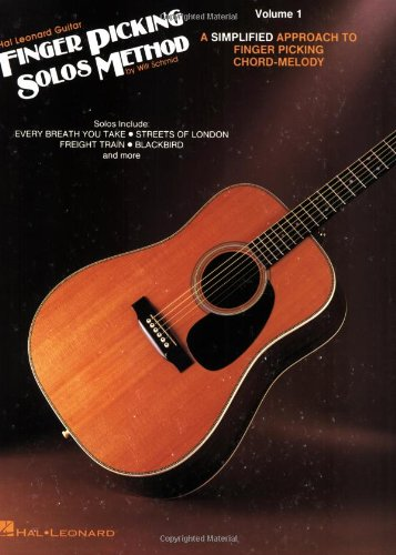 9780793525300: Hal Leonard Guitar Finger Picking Solos Method: Volume 1