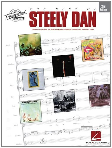 9780793525317: The Best Of Steely Dan: Original Scores for Vocals, Solo Guitar, Solo Keyboard, Sythesizer, Keyboards, Bass, Percussion & Drums
