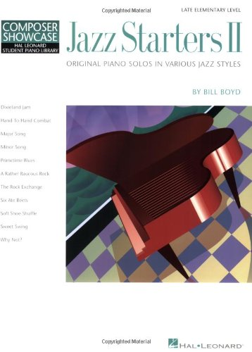 9780793525379: Jazz Starters II: Late Elementary Level Composer Showcase: Elementary Level Composer Showcase II (Hal Leonard Student Piano Library (Songbooks))