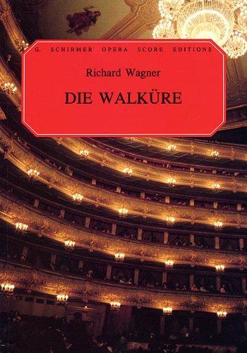 9780793525508: Die Walkure: Vocal Score
