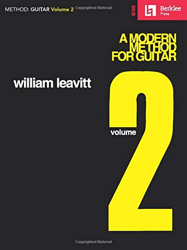 9780793525720: A Modern Method for Guitar - Volume 2: Guitar Technique