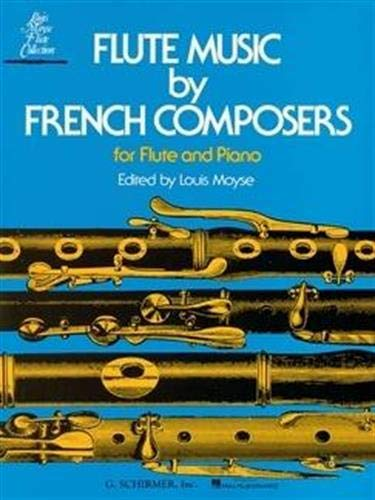 9780793525768: Flute Music by French Composers for Flute and Piano