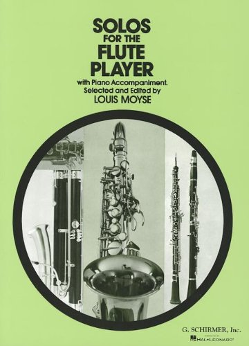 9780793525782: Solos for the Flute Player: With Piano Accompaniment (Schirmer's Solos)