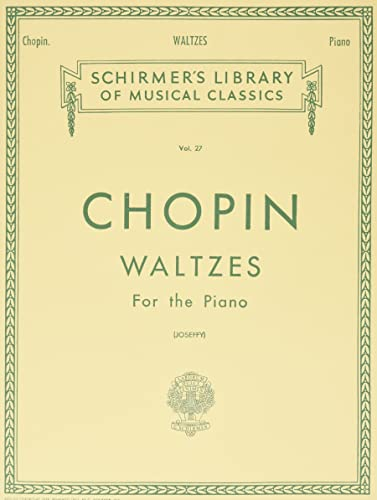 9780793525812: Chopin: Waltzes For the Piano vol. 27