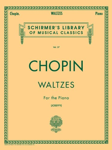 9780793525812: Frederic Chopin: Waltzes For The Piano