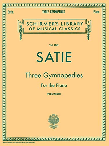 9780793525904: 3 Gymnopedies: Sheet Music