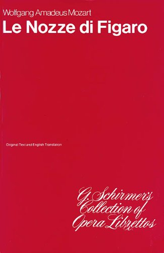 9780793525928: Le Nozze Di Figaro/Marriage of Figaro: Libretto