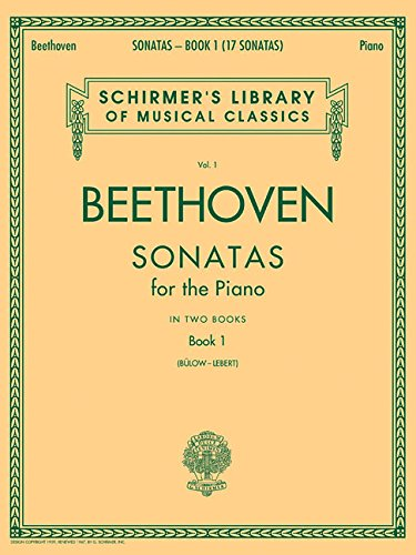 9780793525935: 1: Ludwig Van Beethoven: Sonatas for the Piano Book I Piano (Schirmer's Library of Musical Classics)