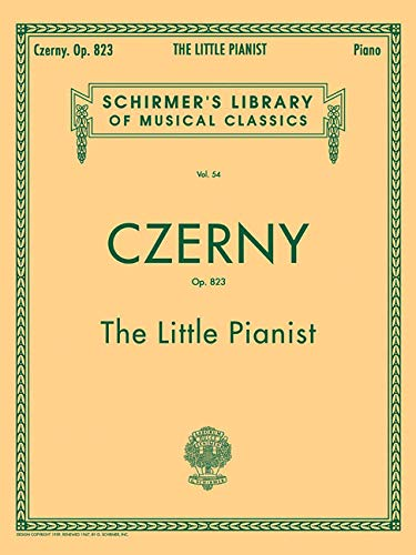 9780793525973: Little Pianist, Op. 823 (Complete): Piano Solo (Schirmer's Library of Musical Classics)