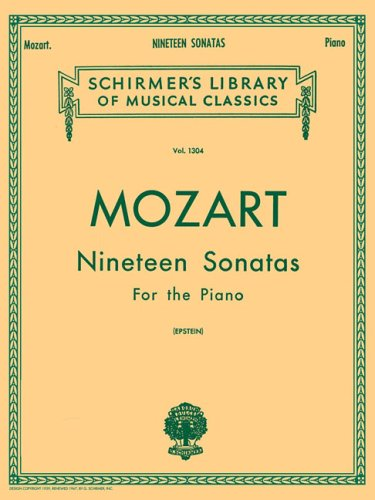 9780793526017: 19 Sonatas - Complete (Schirmer's Library of Musical Classics)