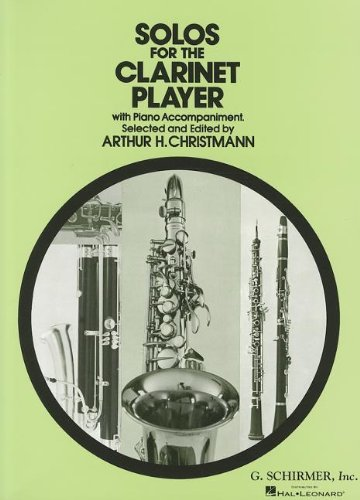 9780793526048: Solos for the Clarinet Player with Piano Accompaniment