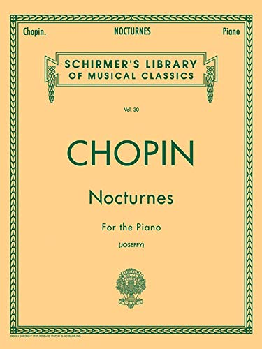 9780793526055: Nocturnes For the Piano (Schirmer's Library of Musical Classics, Vol. 30)