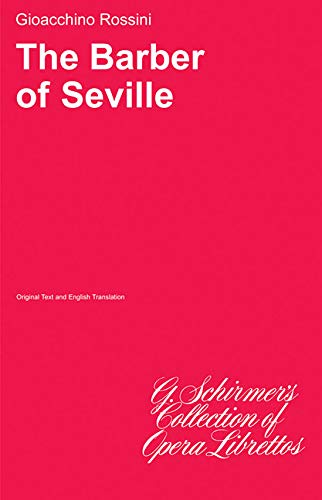 9780793526086: The Barber of Seville (English and Italian Edition)
