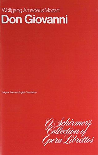 9780793526093: Don Giovanni: Opera Libretto