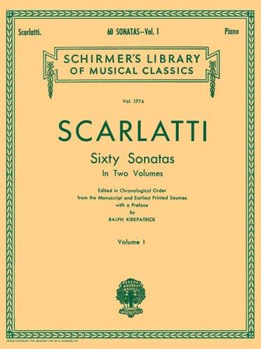 9780793526116: 60 Sonatas: 1