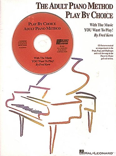 9780793526314: The Adult Piano Method Play By Choice Piano +CD