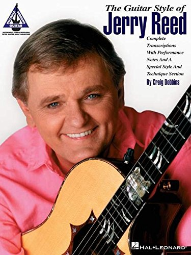 9780793526345: Guitar Style Of Jerry Reed With Notes And Tablature (Guitar Recorded Versions)