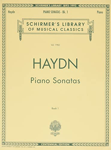 9780793526574: Piano Sonatas - Book 1 (Schirmer's Library of Musical Classics)
