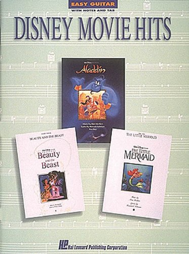 9780793526734: Disney Movie Hits: With Notes and Tablature (Easy Guitar)