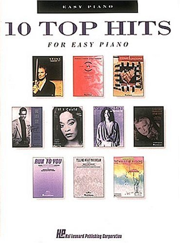 Chartbuster - 10 Top Hits For Easy Piano (Guitar Recorded Versions): n/a