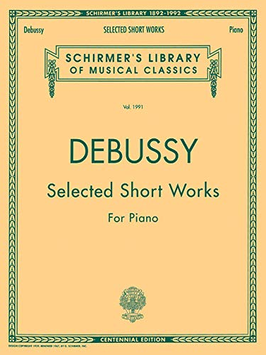 9780793529667: Debussy: Selected Short Works for Piano