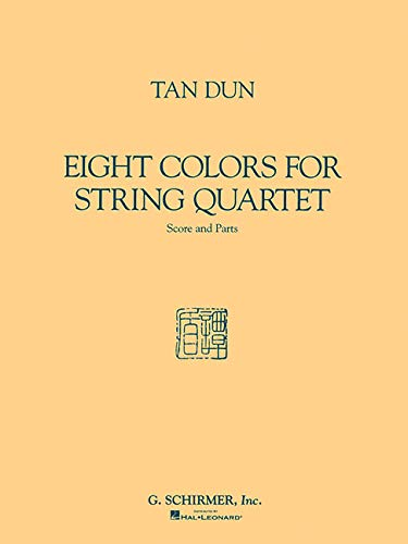 9780793530229: EIGHT COLORS FOR STRING QUARTET