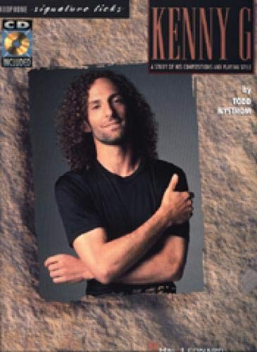 9780793530571: Best of Kenny G - Signature Licks: Book/CD Pack