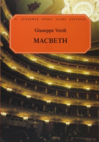 9780793531066: Macbeth: Opera in Four Acts