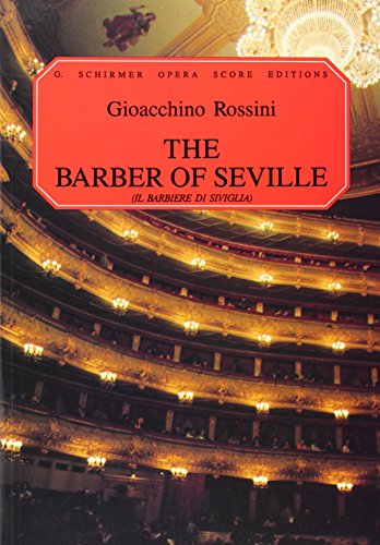 9780793531080: The Barber of Seville: IL Barbiere di Siviglia: Vocal Score