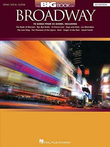 9780793531547: The Big Book of Broadway - 4th Édition Piano, Voix, Guitare (Big Books of Music)