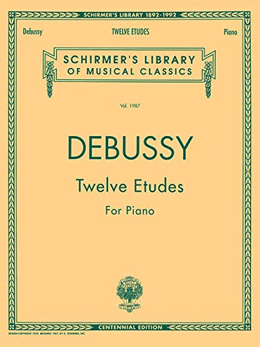 9780793531585: Twelve Etudes for Piano: Schirmer Library of Classics Volume 1987 Piano Solo (Schirmer's Library of Musical Classics)