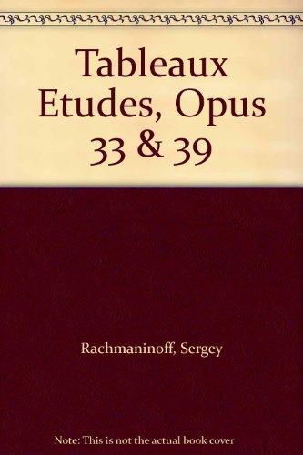 9780793531646: Tableaux Etudes, Opus 33 & 39