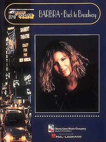 379. Barbra Streisand - Back To Broadway: Barbra Streisand
