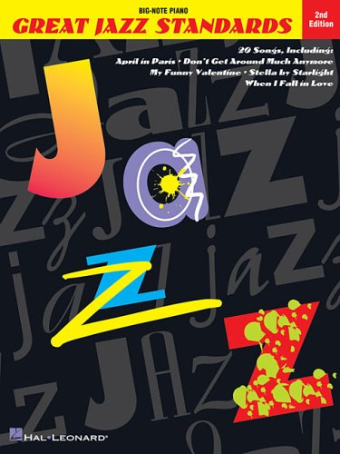 9780793533084: Great Jazz Standards (Big-Note Piano)