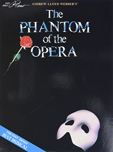 9780793533206: Andrew Lloyd Webber's The Phantom of the Opera (Easy Adult Piano)