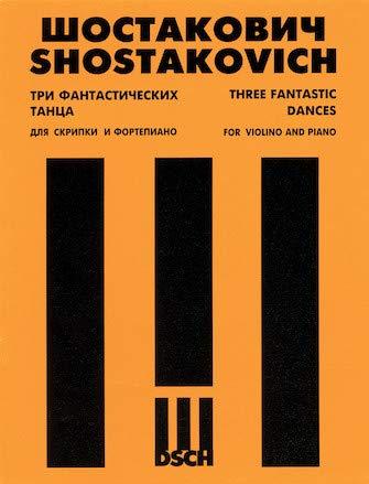 Three Fantastic Dances, Opus 5 (MCA Piano Library): Shostakovich, Shostakovich, Dmitri