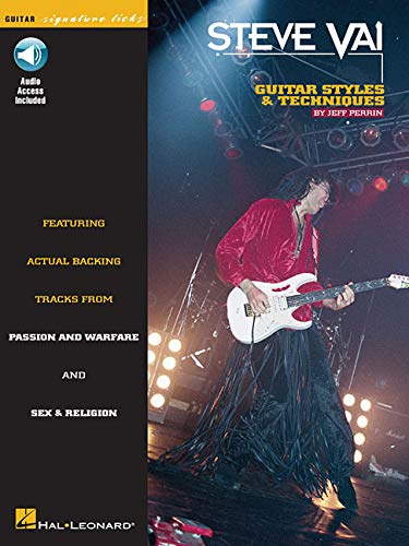 9780793533909: Steve Vai Styles And Techniques Guitar Signature Licks + CD