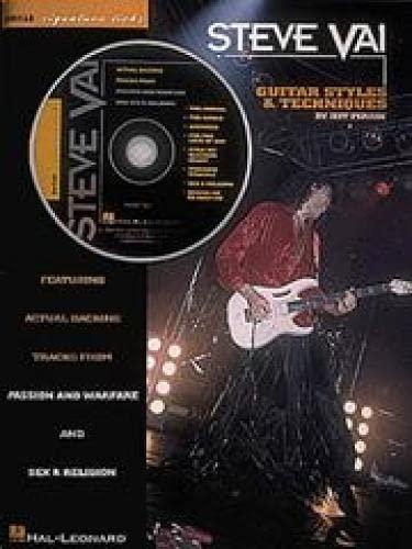 9780793533909: Steve Vai - Guitar Styles & Techniques