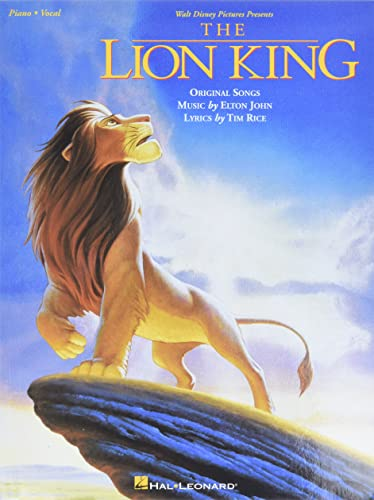 9780793534166: Walt Disney Presents The Lion King: Original Songs (Piano, Vocal)