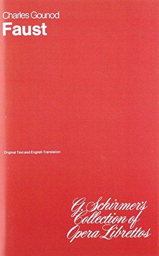 9780793534241: Faust: Libretto