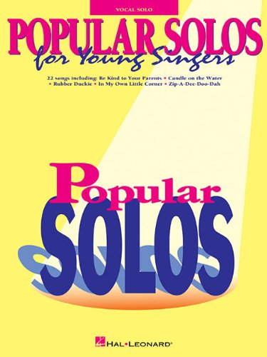 9780793534449: Popular Solos for Young Singers
