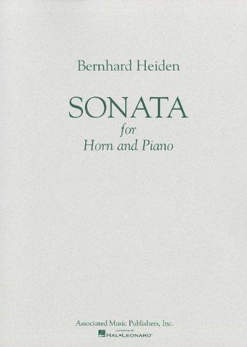 9780793534821: Sonata for Horn & Piano