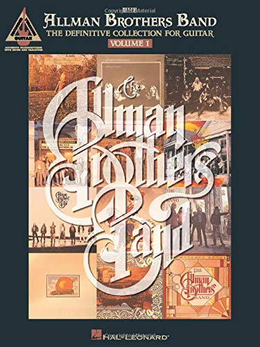 9780793535071: The Allman Brothers Band - the Definitive Collection for Guitar: 1