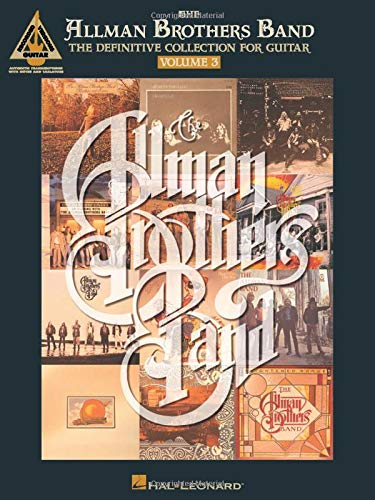 9780793535095: The Allman Brothers Band: The Definitive Collection for Guitar, Vol. 3