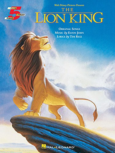 9780793535132: Lion King The For Five Finger Piano