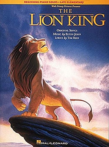 9780793536450: The Lion King (Beginning Piano Solo Songbook)