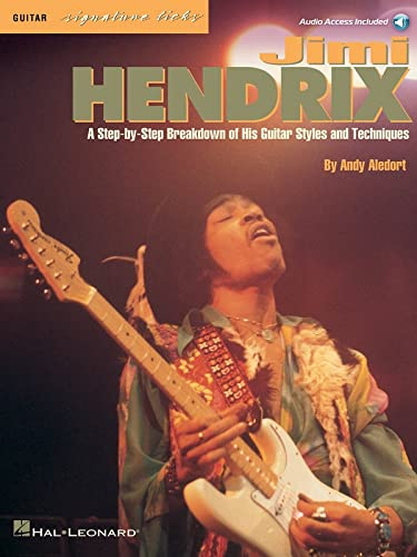 9780793536597: Jimi Hendrix, Guitar Signature Licks: A Step-by-Step Breakdown of His Guitar Styles and Techniques (Book & CD)
